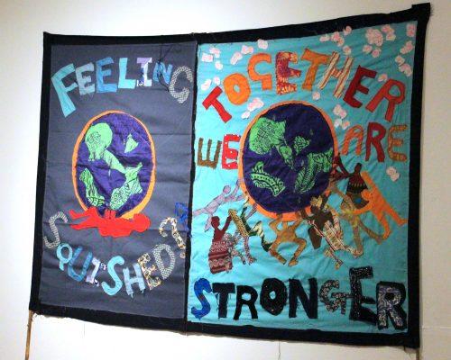 Community arts banner
