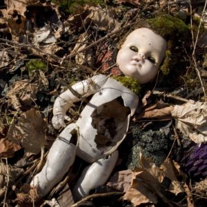 Abandoned Scary Doll