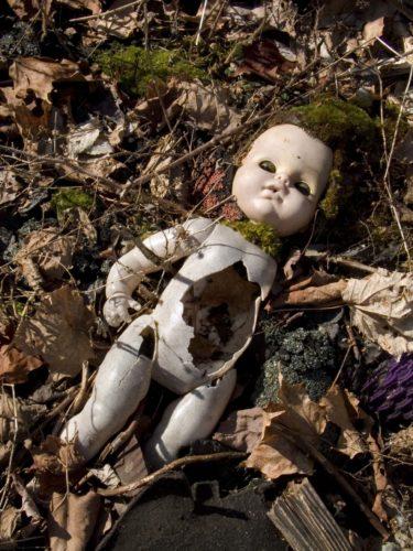 Abandoned Scary Doll
