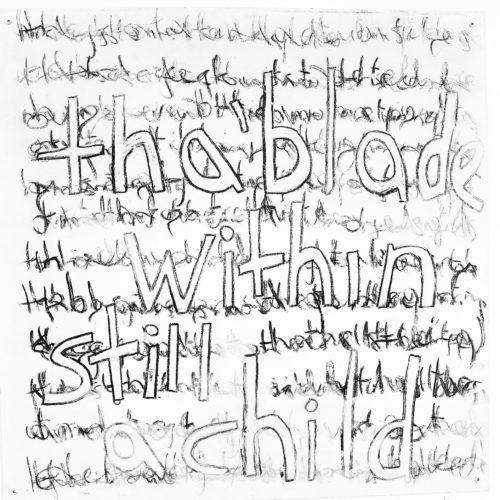 hand drawn text
