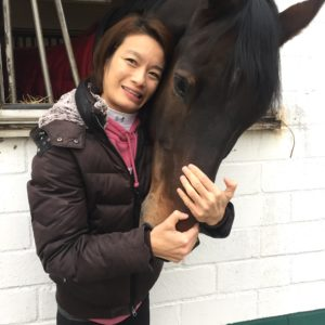 Paralympian Laurentia Tan, pictured with her horse