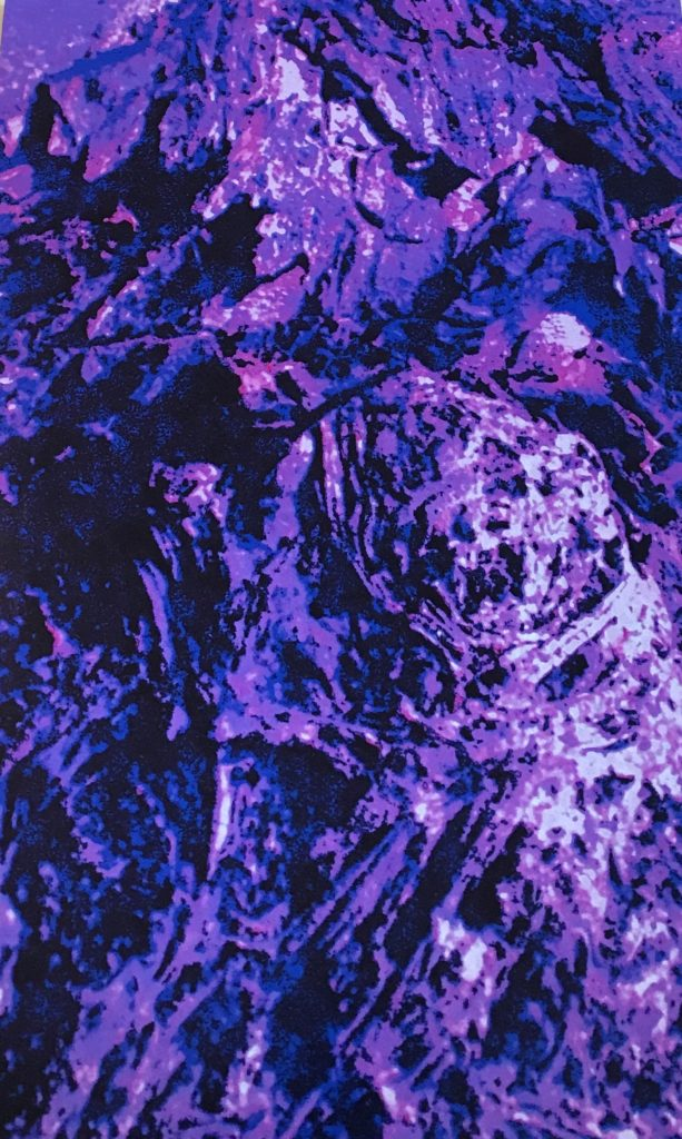 a purple abstract image