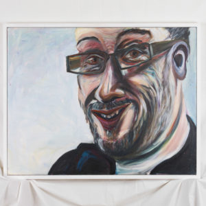 Oil portrait of Tony Heaton