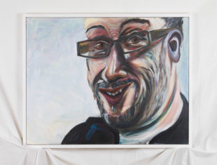 Oil portrait of Tony Heaton