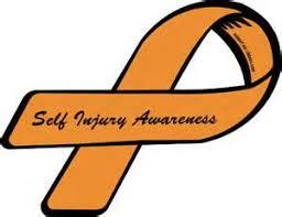 Self injury awareness ribbon