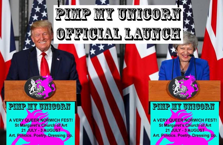Pimp My Unicorn launch poster