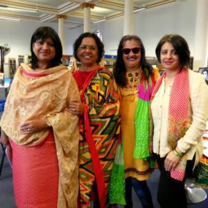 group portrait photo of four Punjabi women