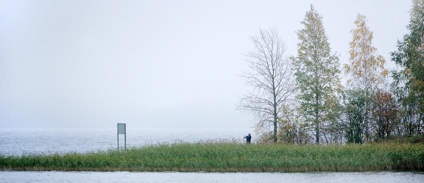 photo of a small island
