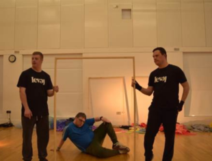 Three learning disabled men