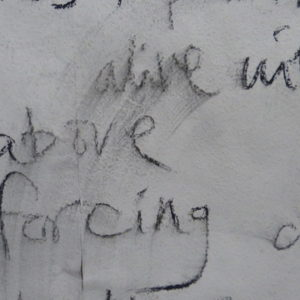image of handwriting