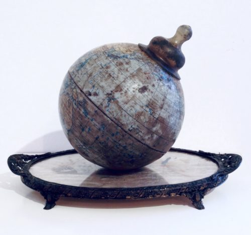 photo of globe with a teat