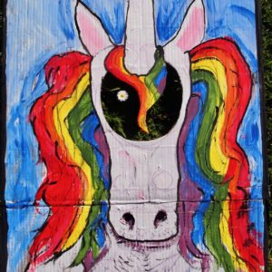 painting of a unicorn