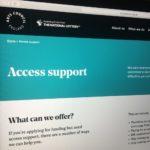 Arts Council England website