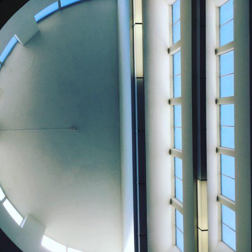 Light-filled atrium