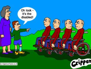 disability language cartoon