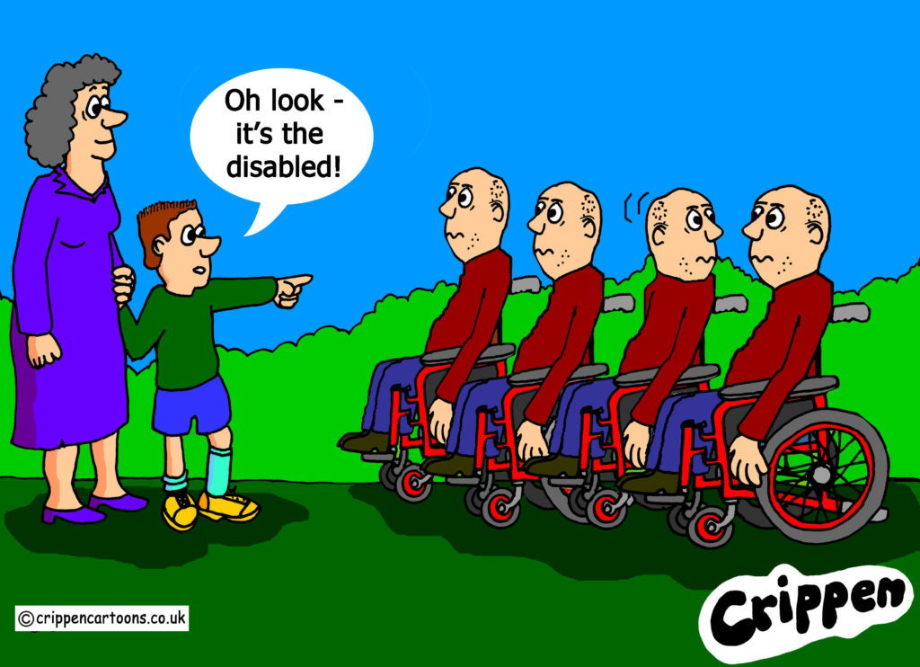 disability language cartoon
