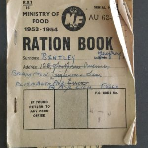 A ration book