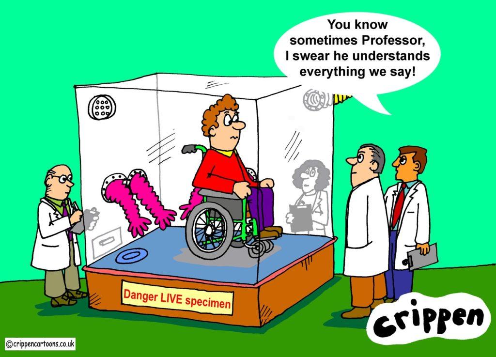 disability cartoon