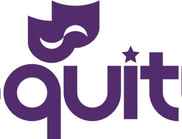Equity logo purple writing