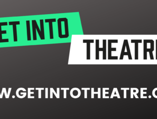 Get into theatre logo and website