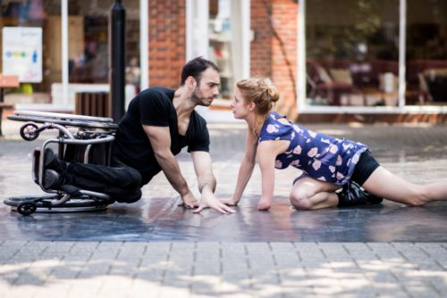 Candoco Dance Company dancers Joel and Laura perform You And I Know