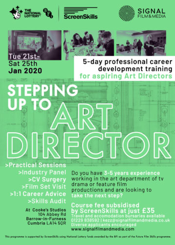 Poster for Stepping Up to Art Director