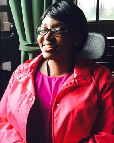 headshot of black female writer