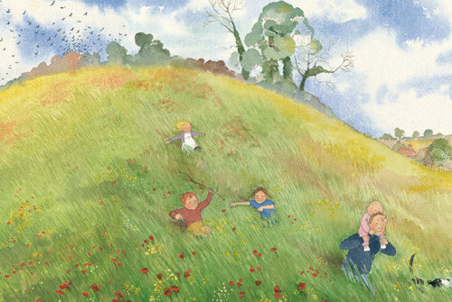 Book cover of We're Going on a Bear Hunt by Michael Rosen