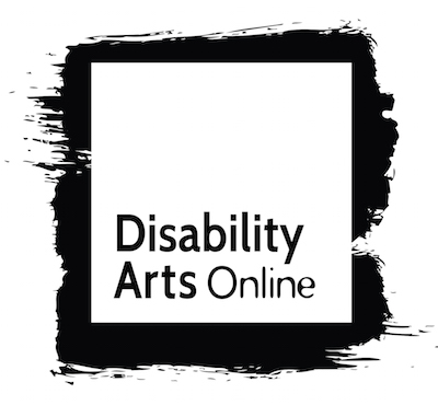 Square logo with Disability Arts Online in the centre