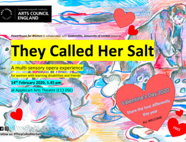 Poster for They Called Her Salt.