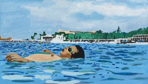Egypt, by artist Sharif Persaud, 2016.