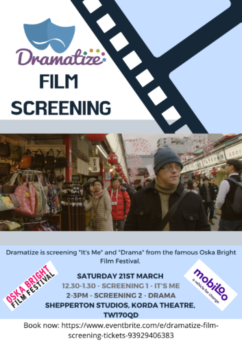 Poster with details of Film Screening