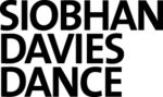 Siobhan Davies Dance Logo, written in capital bold black type on a white background.