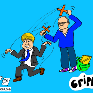 Boris manipulated by Cummings