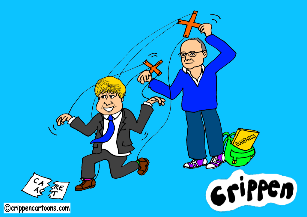 Boris manipulated by Cummings