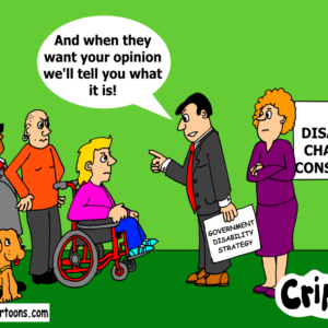 consultation between government and disabled people