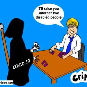 Boris Johnson gambles with death