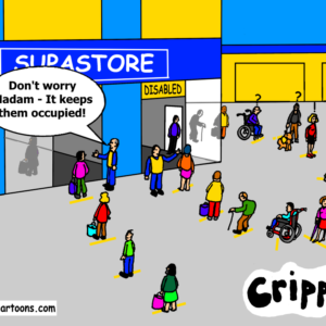 disabled shoppers