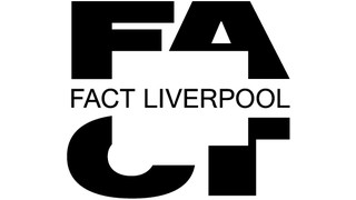 FA above CT in big bold black type. There is a white square cut out of the middle, across which reads Fact Liverpool in small black capitals.