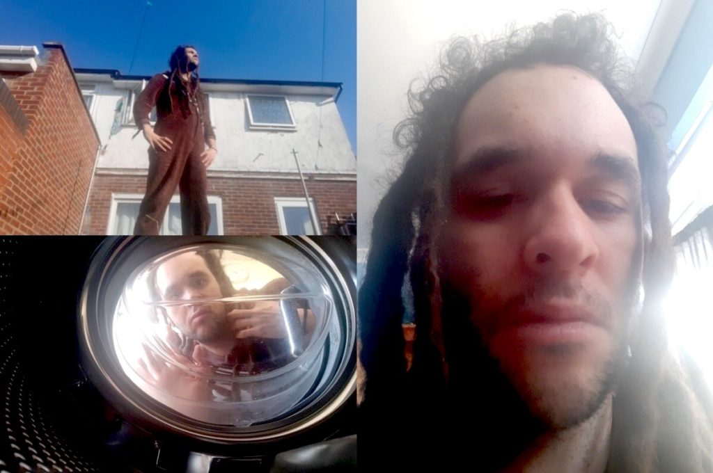 collage of selfie portrait photos