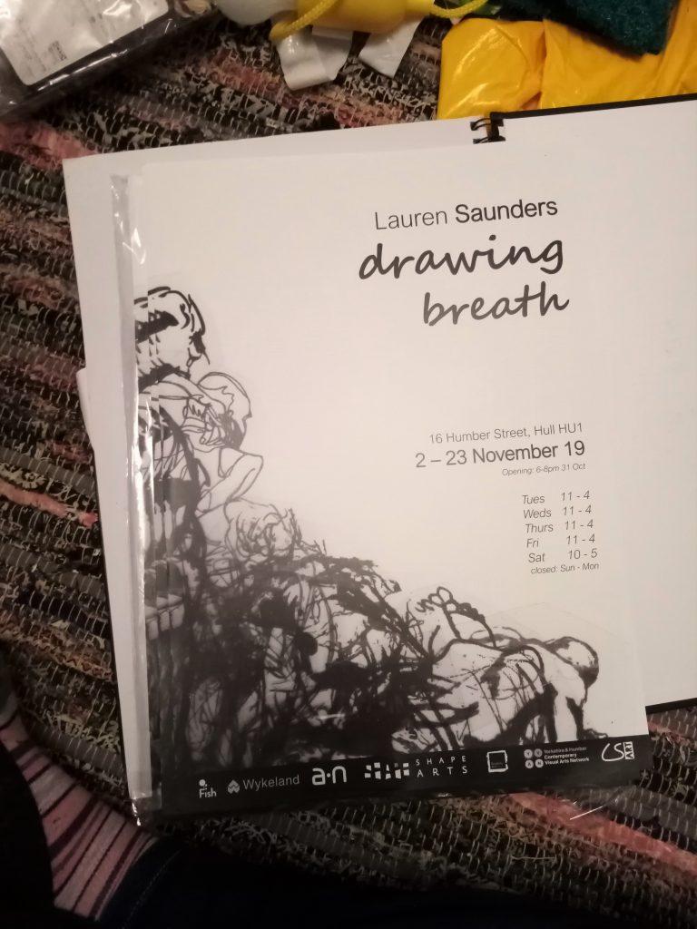 photo of an exhibition catalogue