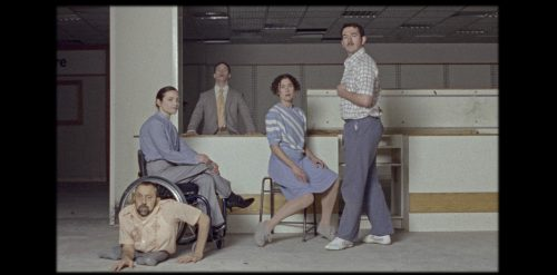 Main image of the five dancers in the film Artificial Things