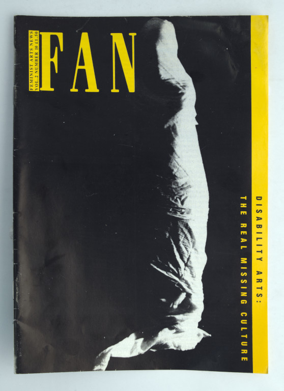 cover of Feminist Arts News (FAN)