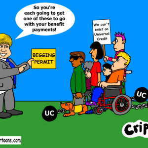 a cartoon about scrapping UC