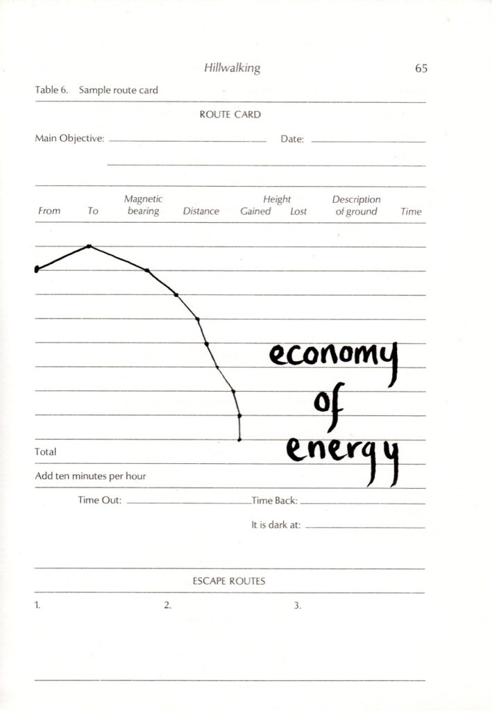 image of a graph with the handwritten words 'economy of energy'