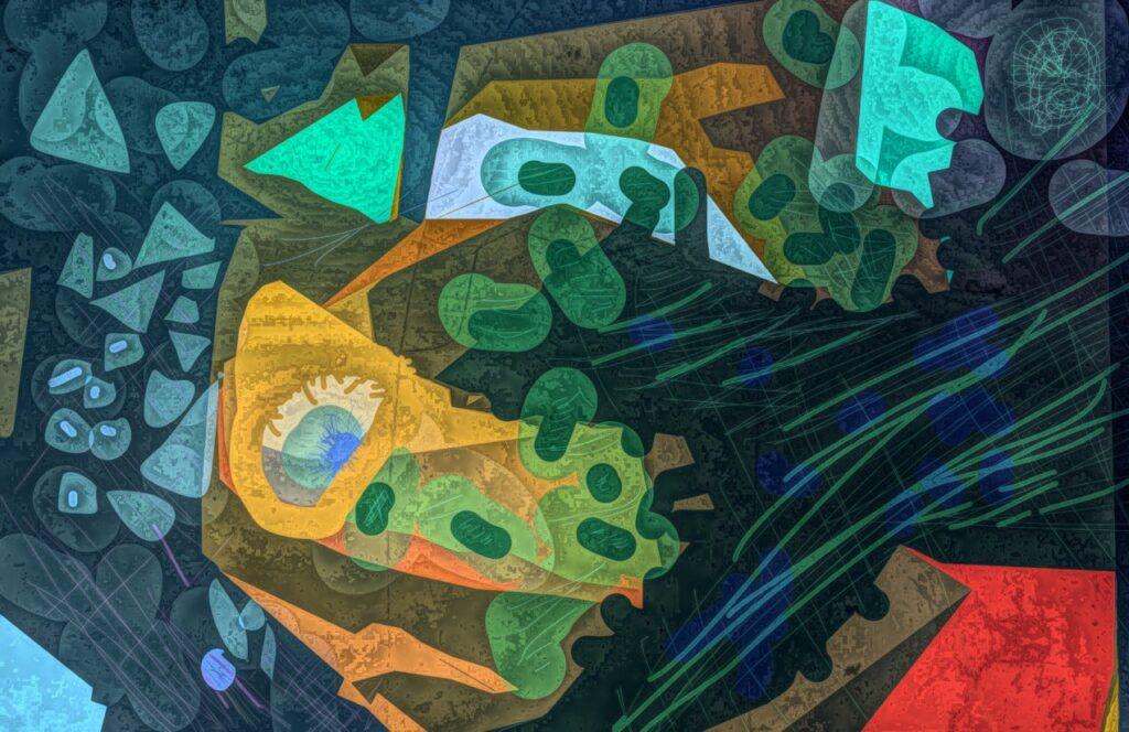 abstract digital image
