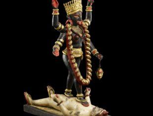 Figure of Kali (c) Trustees of the British Museum