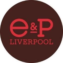 E&P Liverpool logo inside a red circle