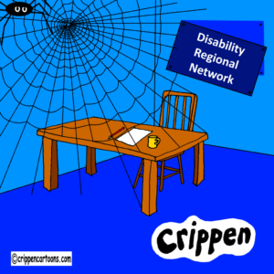 a cartoon about the disability regional network