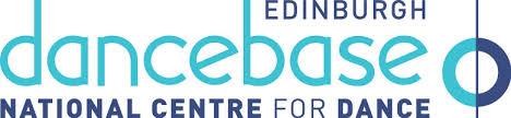 Blue Logo bearing the text Edinburgh Dance Base Scotland, National Centre for Dance